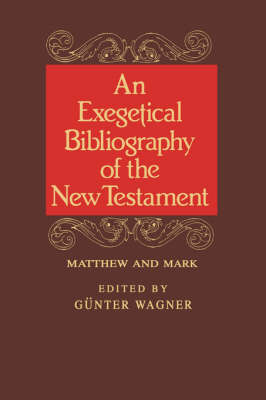 Exegetical Bibl: Matt-Mark Vol 1 (Hardback)