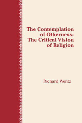Contemplation of Otherness: Critical Vision of Religion (Hardback)
