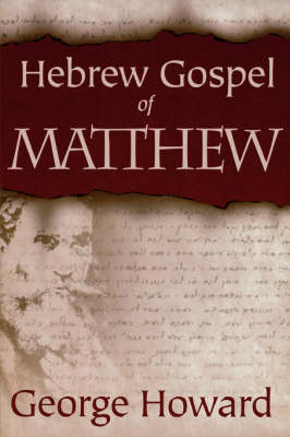 The Hebrew Gospel of Matthew (Paperback)
