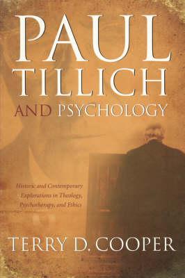 Paul Tillich and Psychology (Paperback)