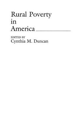 Rural Poverty in America (Paperback)