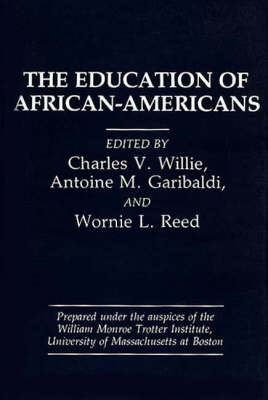 The Education of African-Americans (Paperback)