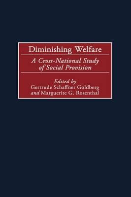 Diminishing Welfare: A Cross-National Study of Social Provision (Hardback)