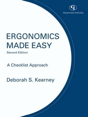 Ergonomics Made Easy: A Checklist Approach (Paperback)