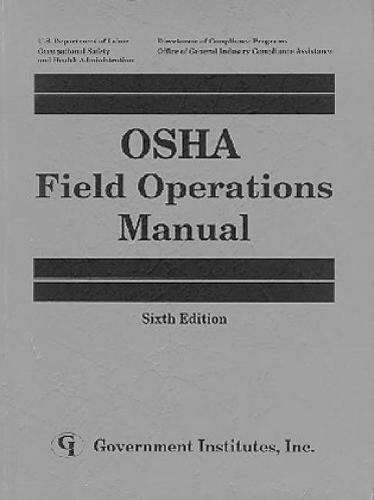 OSHA Field Operations Manual (Paperback)