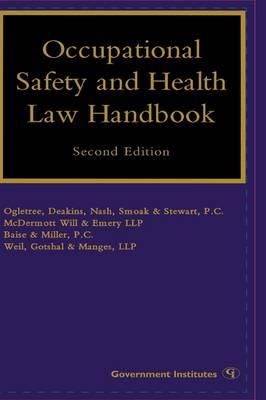 Occupational Safety and Health Law Handbook (Hardback)