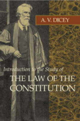 Introduction to the Study of the Law of the Constitution (Paperback)