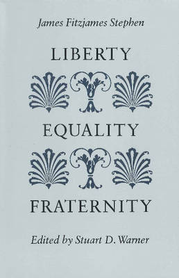 Liberty, Equality, Fraternity (Paperback)