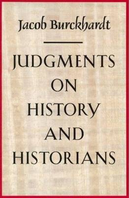 Judgments on History and Historians (Paperback)