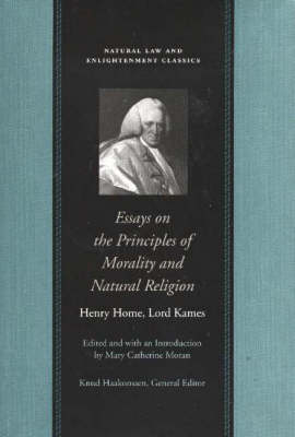 Essays on the Principles of Morality & Natural Religion (Hardback)