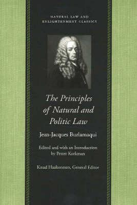 Principles of Natural & Politic Law (Hardback)
