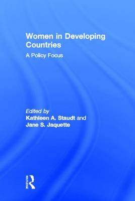 Women in Developing Countries: A Policy Focus (Hardback)