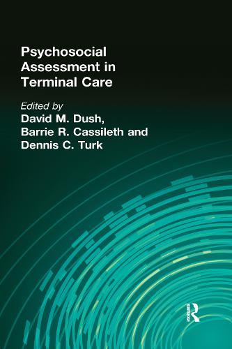 Psychosocial Assessment in Terminal Care (Hardback)