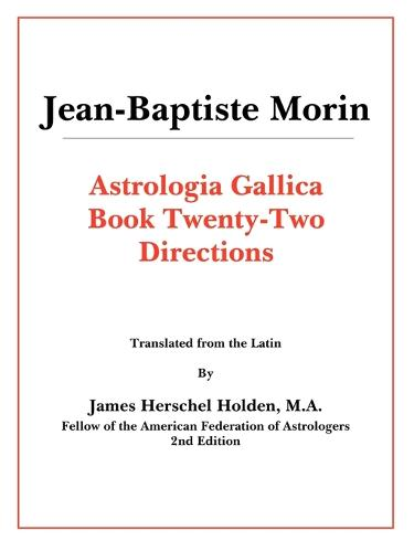 Astrologia Gallica Book 22 (Paperback)