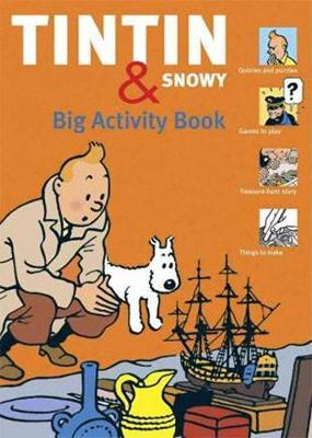 Tintin And Snowy: Big Activity Book (Paperback)