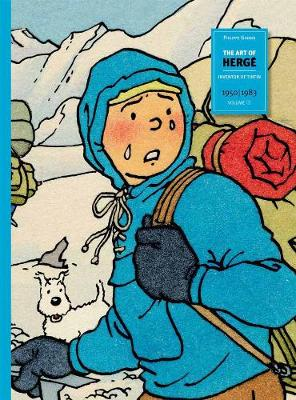 Art Of Herge, The: Vol.3: Inventor of Tintin (Hardback)