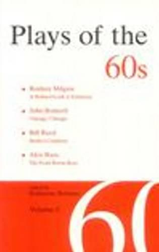 Plays of the 60s: Volume 3 (Paperback)