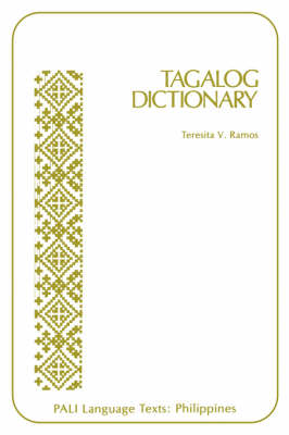 Tagalog Dictionary (Paperback)
