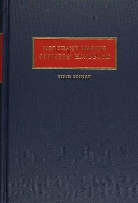 Merchant Marine Officers' Handbook (Hardback)