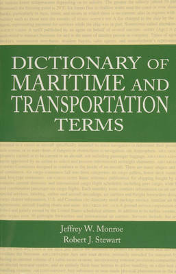 Dictionary of Maritime and Transportation Terms (Paperback)