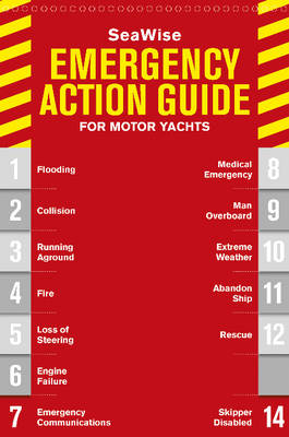 SeaWise Emergency Action Guide and Safety Checklists for Motor Yachts (Spiral bound)
