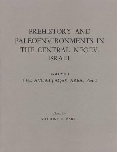 Prehistory Paleo Negev-Israel-I (Paperback)