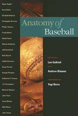 Anatomy of Baseball - Sport in American Life (Hardback)