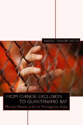 From Chinese Exclusion to Guantanamo Bay: Plenary Power and the Prerogative State (Hardback)