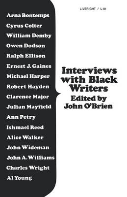 Interviews with Black Writers (Paperback)