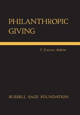 Philanthropic Giving (Hardback)