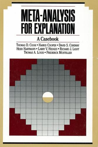 Meta-Analysis for Explanation: A Casebook (Paperback)