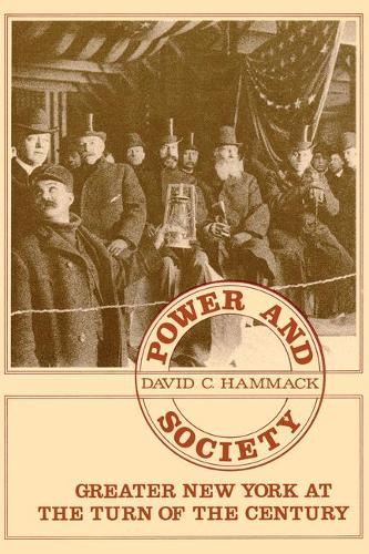 Power and Society in Greater New York (Hardback)