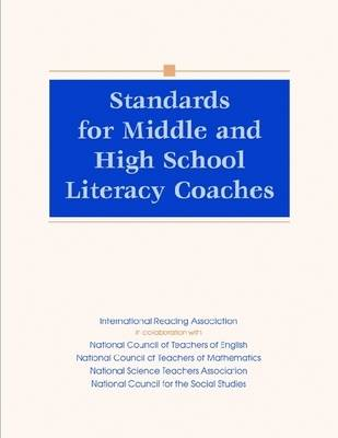 Standards for Middle and High School Literacy Coaches (Paperback)