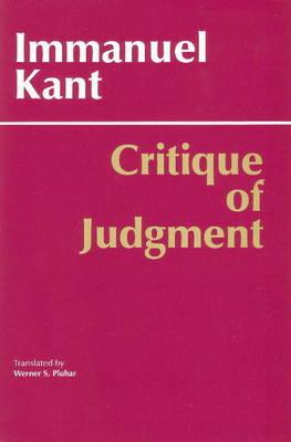 Critique of Judgment (Paperback)