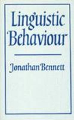 Linguistic Behaviour (Hardback)