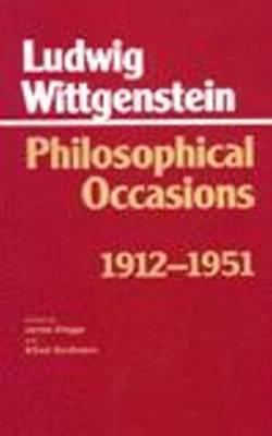 Philosophical Occasions: 1912-1951: 1912-1951 - Hackett Classics (Hardback)