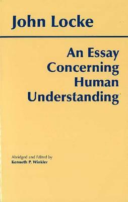 An Essay Concerning Human Understanding (Hardback)
