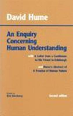 An Enquiry Concerning Human Understanding: with Hume's Abstract of A Treatise of Human Nature and A Letter from a Gentleman to His Friend in Edinburgh (Hardback)