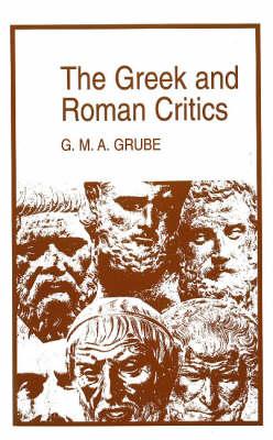 The Greek and Roman Critics (Paperback)