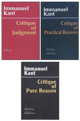 Three Critiques, 3-volume Set: Vol. 1: Critique of Pure Reason; Vol. 2: Critique of Practical Reason; Vol. 3: Critique of Judgment - Kant's Three Critiques (Paperback)