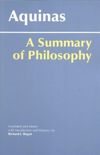 A Summary of Philosophy: A Summary of Philosophy (Hardback)