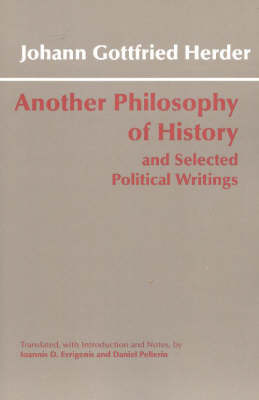 Another Philosophy of History and Selected Political Writings (Hardback)