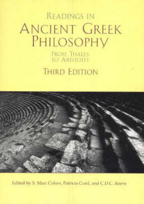 Readings in Ancient Greek Philosophy: From Thales to Aristotle (Hardback)