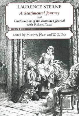 A Sentimental Journey Through France and Italy and Continuation of the Bramine's Journal: With Related Texts (Paperback)