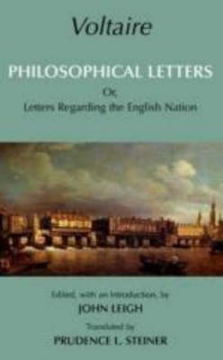 Voltaire: Philosophical Letters: Or, Letters Regarding the English Nation (Hardback)