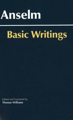 Anselm: Basic Writings (Paperback)