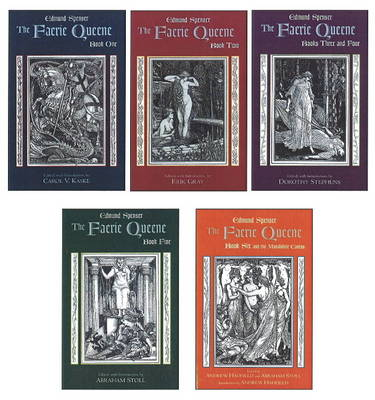 The Faerie Queene: Complete in Five Volumes: Book One; Book Two; Books Three and Four; Book Five; Book Six and the Mutabilitie Cantos (Paperback)