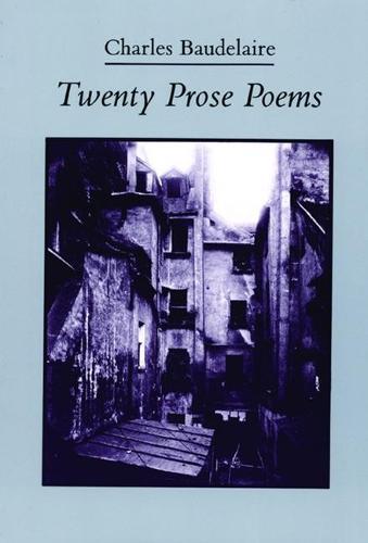 Twenty Prose Poems (Paperback)