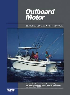 Outboard Motor Service Manual: v. 2 (Paperback)