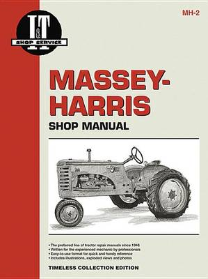 Massey Ferguson Shop Manual Models 20 22 30 44 55 81 82 Pony + (Paperback)